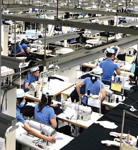 アパレル製品製造サービス